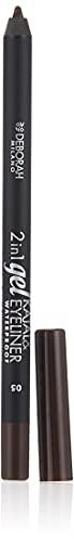 DEBORAH 2in1 Gel Kajal Eyeliner Waterproof 05 Marrone Cosmetici