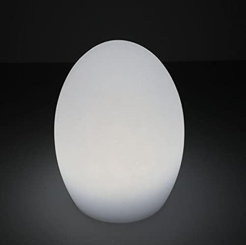 Magshion 8-inch Rechargeable Egg Mesa Mall Shaped Color Lamp free shipping LED Table 16