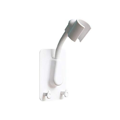CLFYOU Punch freie Brausekopfhalter Flexible Duschkopfhalter Wandhalter für Handduschkopf
