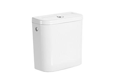 Roca A341231000 - Cisterna de doble descarga 6/3l con alimentación inferior para inodoro