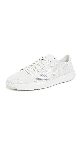 Cole Haan Women's Grandpro Tennis Stitchlite Sneaker, Chalk Vapor Grey, 10 B US