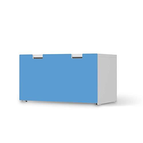 creatisto Kinder Möbelfolie selbstklebend - passend für IKEA Stuva Banktruhe I Hochwertige Kinderzimmer Deko - Möbeldeko für Kinder- und Babyzimmer I Design: Blau Light