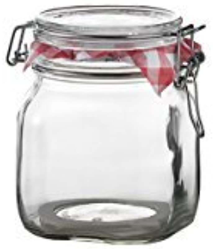 Bormioli Rocco Fido Storage Jar Wire Bail 750 ML 12 Pack