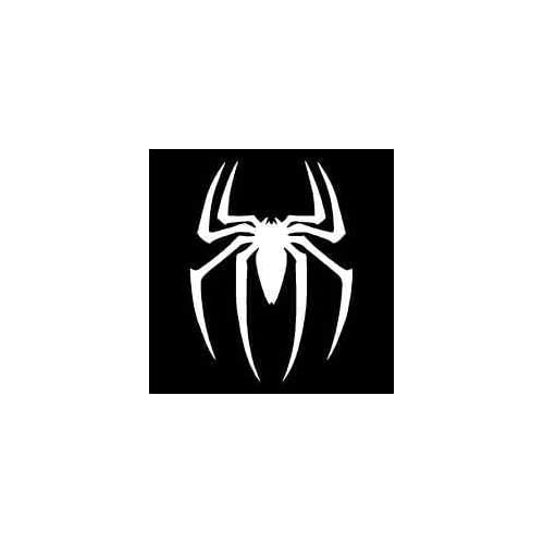 Halloween SPIDER Chrome Silver Logo Auto Car Decal Emblem Sticker Badge Custome