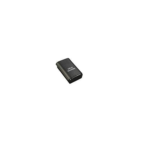 Batterie pour manette xbox 360 sans fil rechargeable 4800mAh batterie de remplacement rechange noir