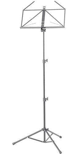 Hamilton Atril KB380F niquelado 55/125 cm, gris