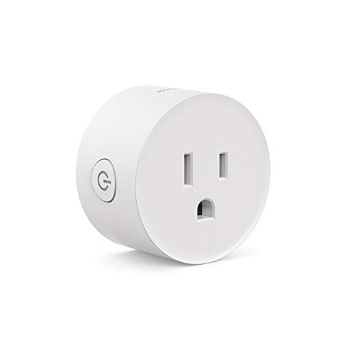Koogeek Smart Plug,Mini Outlet WiFi Socket Compatible with Alexa,Google Home and IFTTT,Remote and Voice Control,Timer Function,No Hub Required 1 Pack