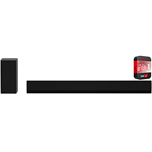 LG GX 3.1 ch High Res Audio Soundbar with Wireless Subwoofer Dolby Atmos Bundle with 1 Year Extended Protection Plan