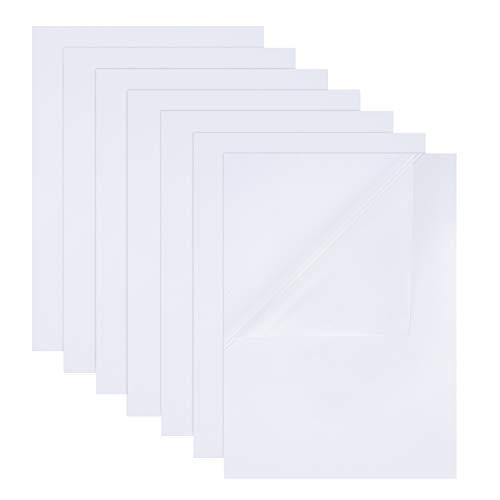 Etiquetas Adhesivas Transparentes A4 Marca BENECREAT
