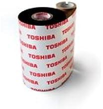 Toshiba TEC AS1 55mm x 600m cinta para impresora - Cinta de impresoras matriciales (Toshiba B-SX4, B-SX5, B-372, B-472, B-572, B-482, B-492, Transferencia térmica, Negro, 600 m, 55 mm)