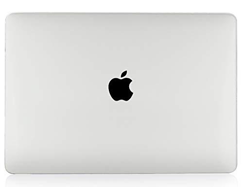 iNeseon Hülle 2018 2019 2020 MacBook Air 13 (A1932/ A2179/ A2337 M1), Ultra Dünner Plastik Hartschale Case Schutzhülle und Tastaturschutz für MacBook Air 13 Zoll mit Touch ID, Kristall Transparent