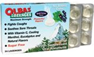 Olbas Herbal Remedy Lozenges, Black Currant 24 count (a)