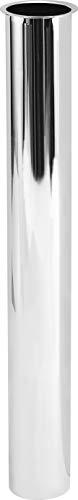 Cornat Verlängerungsrohr - 1 1/4 Zoll x 32 mm - 250 mm Länge - zur Verlängerung des Abwasseranschlusses - Metall verchromt - Pflegeleicht & korrosionsbeständig / TEC317804