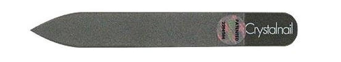のれんランチ告発Crystal nail grass nail file (クリスタルネイル ガラスネイルファイル) 9cmーtype(クリスタルネイルミニ付き)