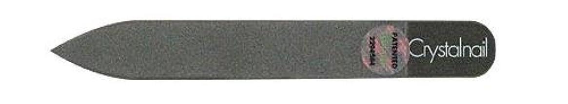 マイクロフォン間接的兵隊Crystal nail grass nail file (クリスタルネイル ガラスネイルファイル) 9cmーtype(クリスタルネイルミニ付き)