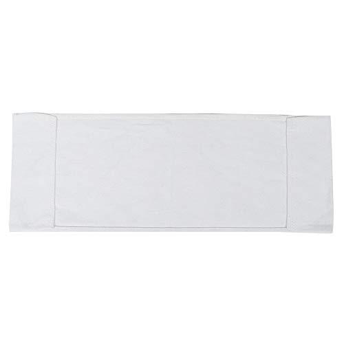 Ong Reemplazo De Lienzos para Sillas, Paño De Silla Práctico Y Duradero 2 Piezas para La Mayoría De Las Personas para La Silla De Director Informal(Blanco)