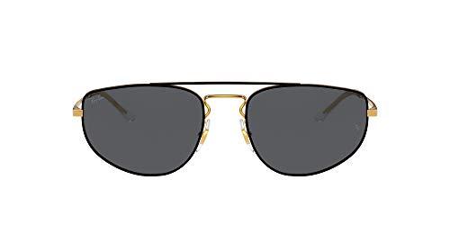 Ray-Ban Gafas de Sol RB 3668 Black Arista/Dark Grey 55/19/140 unisex