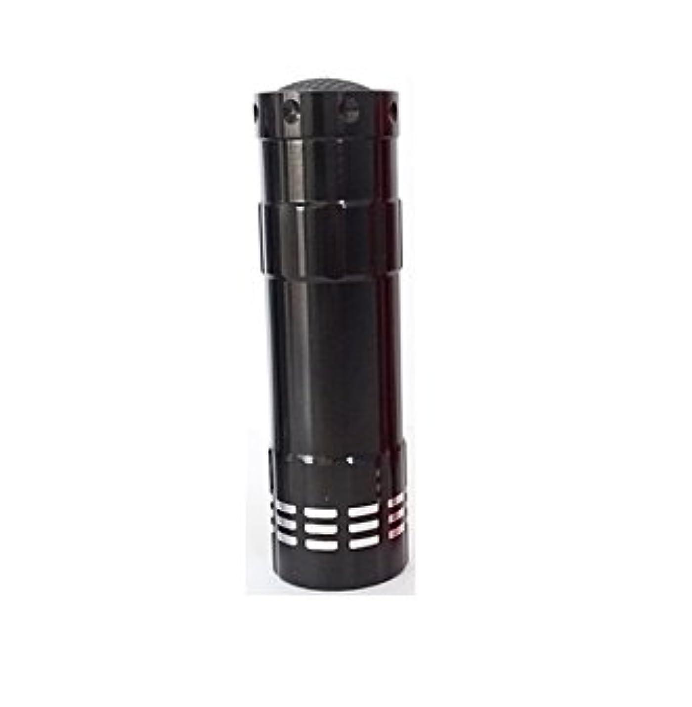 頼る幸運ブースト0.9W LED-UVライト ペンタイプ  全3色 LED-09-NEW (ブラック)