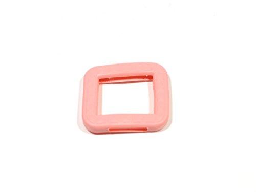 REMA Schlüsselkappen für eckige Schlüssel 25 mm x 25 mm Einzeln und als 10er Sets (10 Kappen, Rosa)