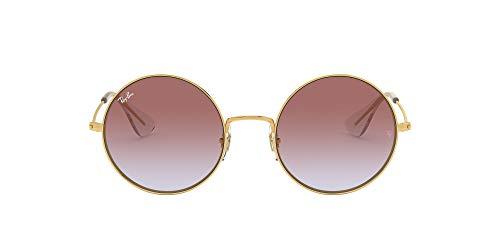 Ray-Ban 0RB3592, Gafas de Sol para Mujer, Marrón (Violet Gradient), 55