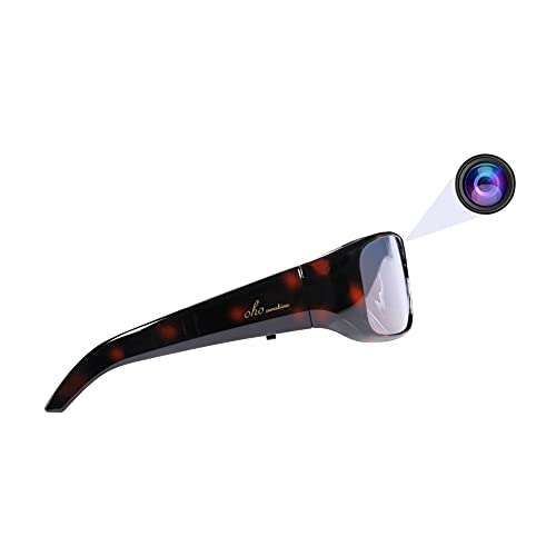 OhO 4K Pro Ultra HD Sport and Action Camera Sunglasses, Water Resistance with Built-in 128GB Memory Portable Video Glasses for Family Trips etc
