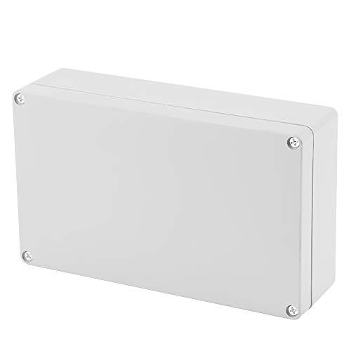 Scatola Derivazione Esterna IP65, 200×120×55mm scatola di giunzione impermeabile, involucro esterno per progetti in ABS, cavo elettrico di collegamento per illuminazione esterna