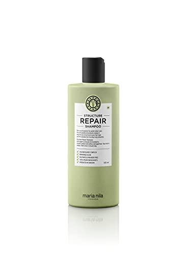 Maria Nila, Structure Repair Shampoo sanftes Haarshampoo für geschädigtes Haar MN3600, grün, 350 milliliter