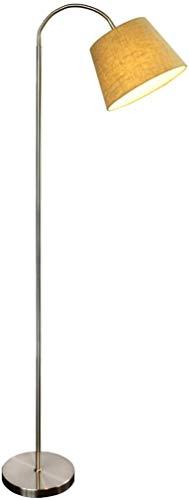 Mode Individualiteit Creatieve stoffen lampenkap Nachtlampje Slaapkamer Vloerlamp Woonkamer Sofa Eenvoudige moderne creatieve verticale tafellamp
