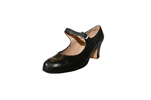 Menkes Schuhe Flamenco, Frau, Leder, mit Nagel, Schnitzen 42