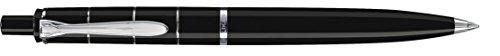Pelikan balpen Classic K 215, 1 stuks, zwart/zilver Design ringen. zwart