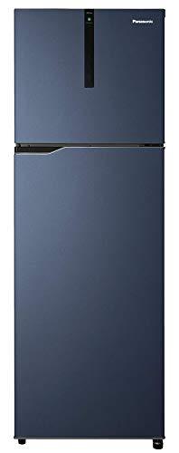 Panasonic Econavi 336 L 3 Star 6-Stage Inverter Frost-Free Double Door Refrigerator (NR-BG343VDA3, Deep Ocean Blue, Powered by Artificial Intelligence)