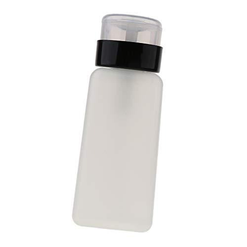 perfeclan 250ml Bouteille Pompe Liquide à Dissolvant Nail Art Ongle Flacon Pompe Nettoyage Vernis à Ongles Professionnel de Salon - #1