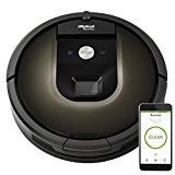 iRobot Roomba 980 Vacuum Cleaning Robot + 2 Dual Mode Virtual Wall Barriers (With Batteries) (Renewed)