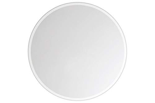Lindner & Koch® - runder Wandspiegel, 38cm Durchmesser, gefast, mit Wandhalterung