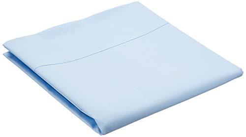 AmazonBasics Everyday - Sábana encimera (100% algodón), 180 x 260 cm - Azul