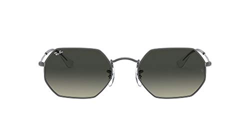 Ray-Ban 0RB3556N Occhiali da Sole, Marrone (Gunmetal), 52.0 Unisex-Adulto
