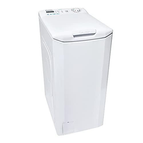 Candy CST 27LET/1-S - Lavadora carga superior 7Kgs, 1200rpm, 40cm ancho, Mix Power System, NFC, Clase E, Color blanco