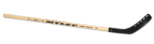 Mylec Eclipse Jet Flo Stick (Wood/Black, Right, 48 -Inch)