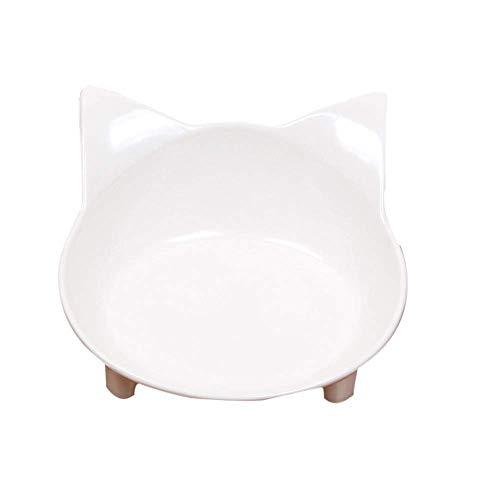 Pet Cat Bowl Hondenmand Pet Food Bowl Kattenhondenharnas levert milieuvriendelijke dubbele kom drinkwater kom gemakkelijk draagbaar gemakkelijk te reinigen Multi-Color Optioneel