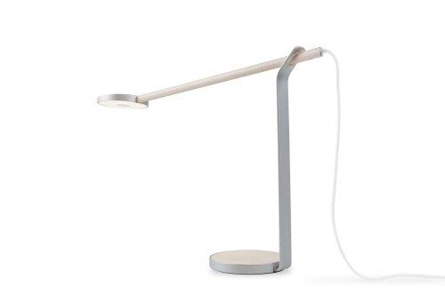 Koncept–Gravy–Lámpara de escritorio 28LED–Erable/plata
