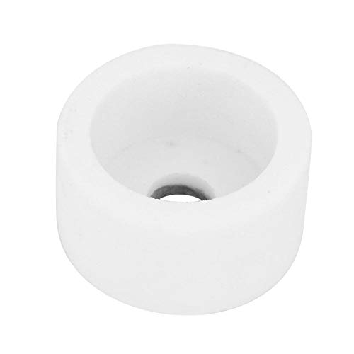 Muela abrasiva - Muela abrasiva de corindón Tipo de taza de corindón de cerámica 75 * 40 * 20 mm 46/120 Grano(120#-Blanco)