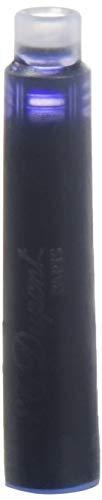 S.T Dupont d-40101pluma estilográfica cartuchos–azul/negro