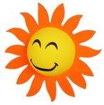 Happy Sunflower Antenna Topper Ball