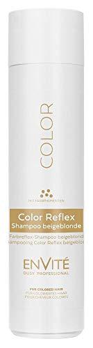 Dusy Envite Color Reflex Shampoo 250ml Haarshampoo mit Farbpigmenten (1 Stück, Beigeblonde)