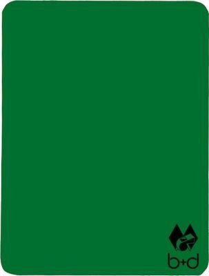 b+d Schiedsrichter-Disziplinarkarte, grün
