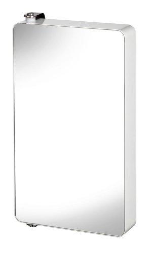 Croydex Arun WC880122 Spiegelschrank, drehbar, groß, 60cm