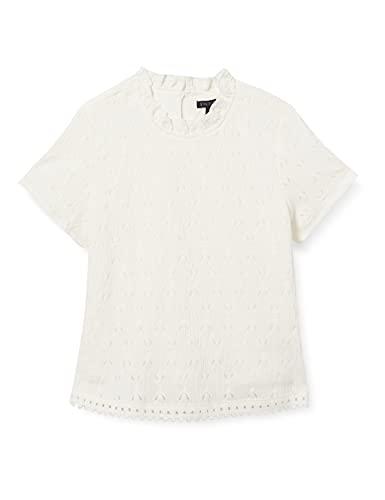 IKKS Débardeur ajouré Camiseta sin Mangas para bebés y niños pequeños, Blanco...