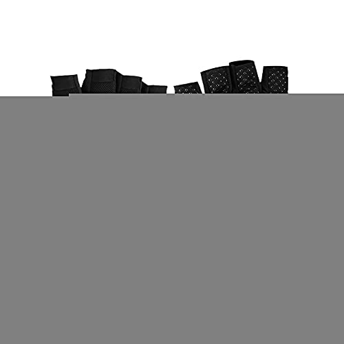 Fesjoy Guante de Medio Dedo, Guantes de Moto para Hombre Moto de Medio Dedo para Escalar Senderismo Ciclismo Caucho Terremoto Lento al Aire Libre Guante Antideslizante Montaña Transpirable