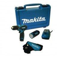 Makita DF 330 DWLE Akkuschrauber + Lampe + Koffer