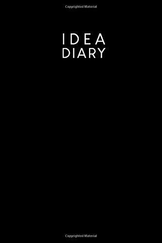 [画像:Idea diary: Dotted notebook for your ideas, sketches and mind maps | Design: Black]